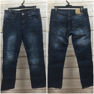🌴MJ14 Carbon Cool Flex Slim Straight Jeans 30x30